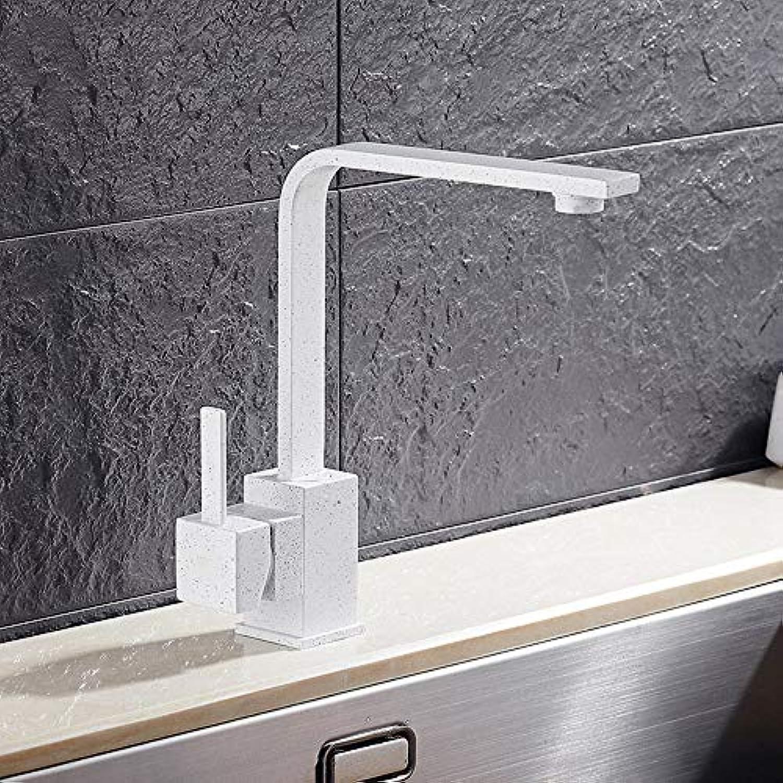 Küchen-Wasserhahn Poliertes Schwarzwlder Schwimmerküchen Sinks Faucet 360 Grad Rotierende Küche Mixer Tap E