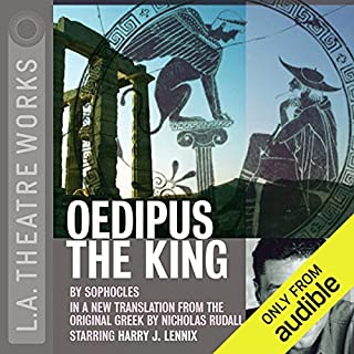Oedipus the King                   By:                                                                                                                                 Sophocles                               Narrated by:                                                                                                                                 full cast                      Length: 1 hr and 46 mins     224 ratings     Overall 4.5