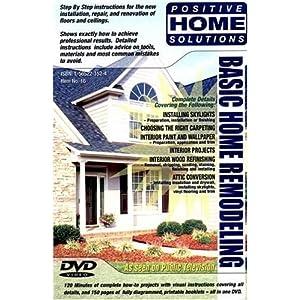Basic Home Remodeling: Home Improvement DVD
