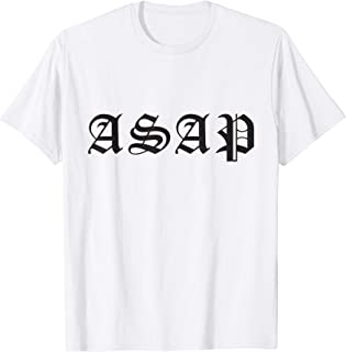 A$AP Mob Gothic Logo T-Shirt Officially Licensed
