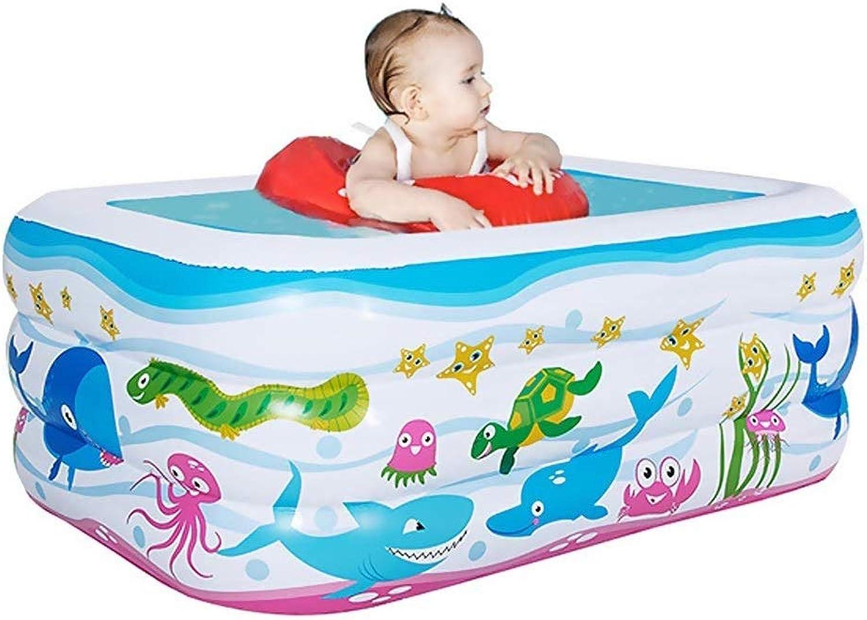 YAWJ Verdicken Sie aufblasbare Swimmingpoolfamilie im Freien und Innengebrauch for Kinder, 51  36  20 Zoll