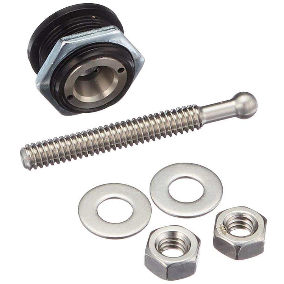 ANJOSHI Quick Release Latch Universal Push Button Low Profile Hood Pins Lock Car Lock Clip Kit 1.25