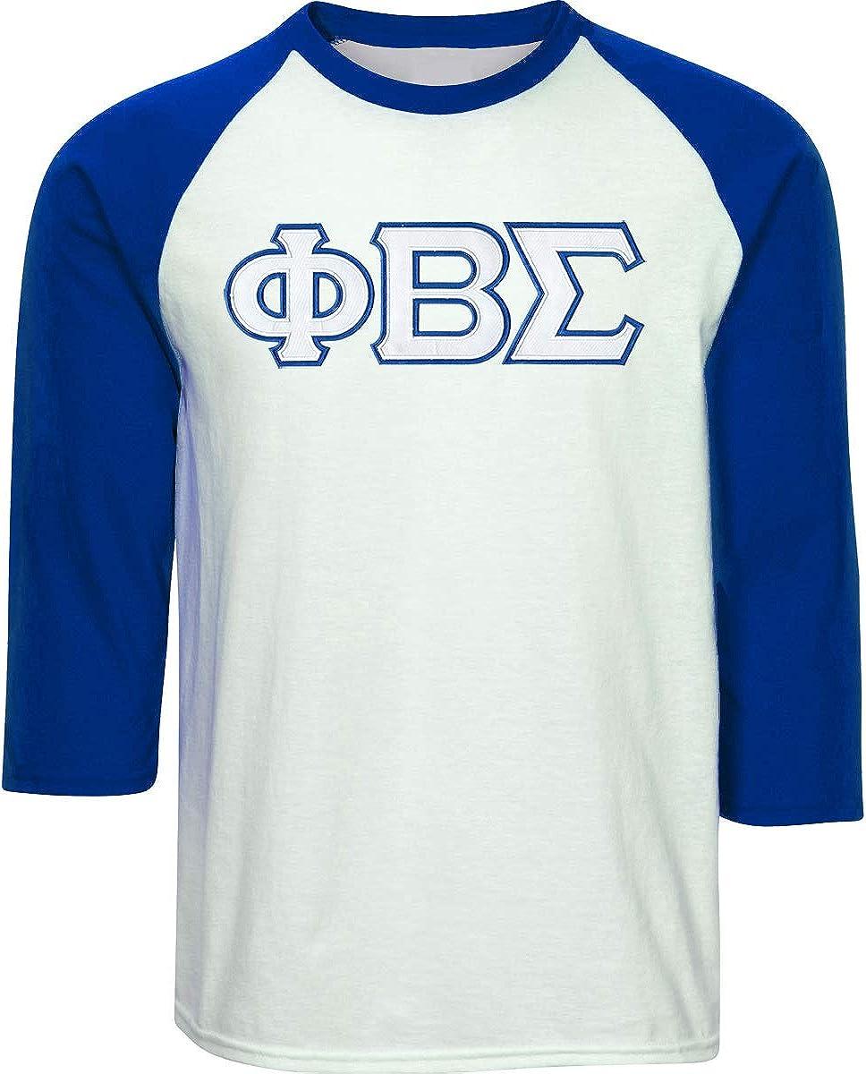 Phi Beta Sigma  stitched shirt new.