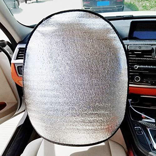 NAttnJf Sommer Auto Lenkrad Anti-UV beständige Sonnenschutz Sonnenschutz Isolierungs Abdeckung