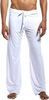 AIEOE Men's Yoga Sport Pants Loose Comfortable Lounge Trousers Sleepwear Bottoms