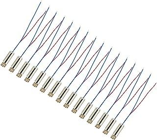 BestTong 15PCS 6mm x 14mm Vibration Motors DC 1.5V 3V 14000RPM Miniature Micro Coreless Vibrating Motor