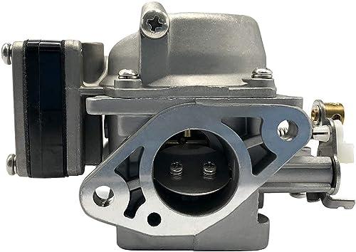 Boat Motor Carbs Carburetor Assy Replaces 6G1-14301 6G1-14301-01 for Yamaha 6hp 8hp 2-Stroke Outboard Motors 6N0-14301