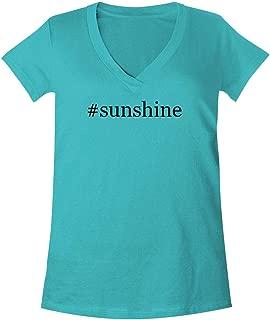 The Town Butler #Sunshine - A Soft & Comfortable Women's V-Neck T-Shirt