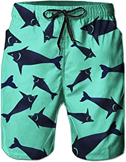 Alistyle Mens Swim Trunks Summer 3D Print Graphic Casual Athletic Swimming Short