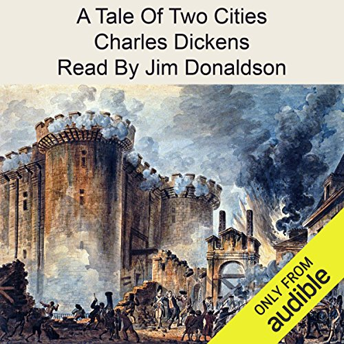 A Tale of Two Cities                   By:                                                                                                                                 Charles Dickens                               Narrated by:                                                                                                                                 Jim Donaldson                      Length: 15 hrs and 19 mins     376 ratings     Overall 3.7