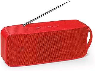 مكبر صوت لاسلكي من دوكولر 838 مزود بمكبر صوت يعمل بتقنية البلوتوث 4.1 مزود بمضخم صوت يدعم مكبرات الصوت AUX TF USB FM