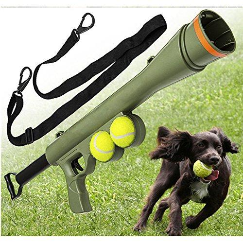 YQLM Maulkorb Katapult Anreiz Werkzeugball Hundespielzeug Lustig Haustier Hund Guntraining Outdoor-Spielzeug Haustier Verbessern Launcher