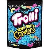 Trolli Sour Brite Crawlers Assorted Sour Chewy Candy Pieces Brite Crawlers Gummy 9 Oz - 0041420110251