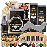 Kit De Coffret Coin Barbe Homme Complet Produit avec Shampoing Barbe,Huile...