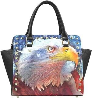 Unique Debora Custom Women's Purse Bag Rivet Shoulder Handbag Crossbody