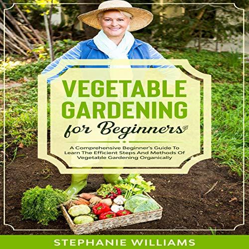 Vegetable Gardening for Beginners cover art