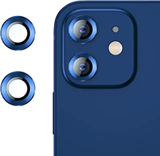 RIWNNI Pellicola Fotocamera Compatibile con iPhone 12/12 Mini [2 Pezzi], Alta Definizione Lente Fotocamera Pellicola Prote...
