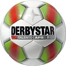 Derbystar Voetbal TALENTO APS S-Light, maat 5, wit/groen/rood, set van 10