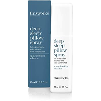 thisworks Deep Sleep Pillow Spray: Natural Sleep Aid, 75ml | 2.5 fl oz