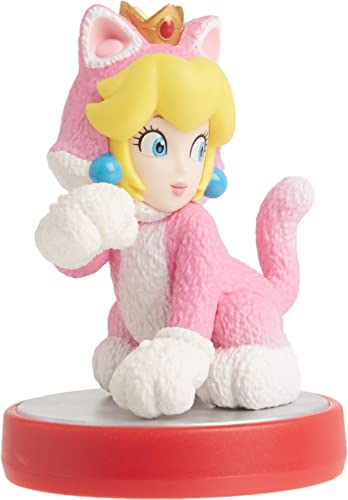 Nintendo amiibo - Cat Peach - Super Mario Series - Nintendo Wii;GameCube;