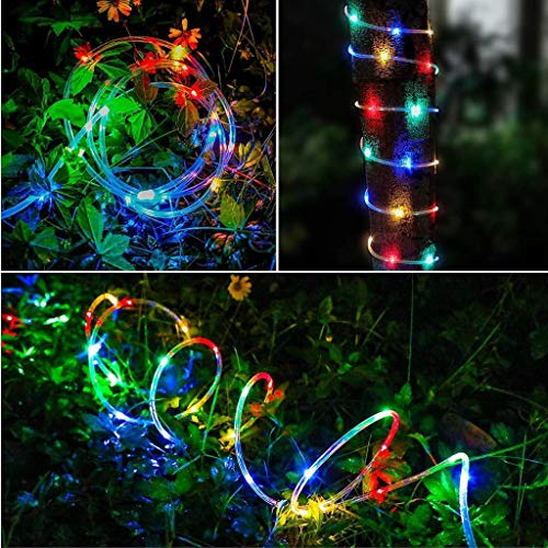 WOYAOFEI LED Fairy Lights, Waterproof Garden Fairy Lights for Rooms, 20 m, 200 Micro LED String Light Wire, Indoor, Battery Operated with Multi-Function Battery Box