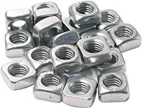 Cyful M8 Stainless Steel Square Nuts -20pcs