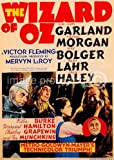 American Gift Services The Wizard of Oz 1939 Vintage Movie Poster Art 24x36