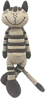 "M&R Toy 13"" Soft Standing Cat Toy Stuffed Animals Plush Toy, Grey - Exclusive Edition"