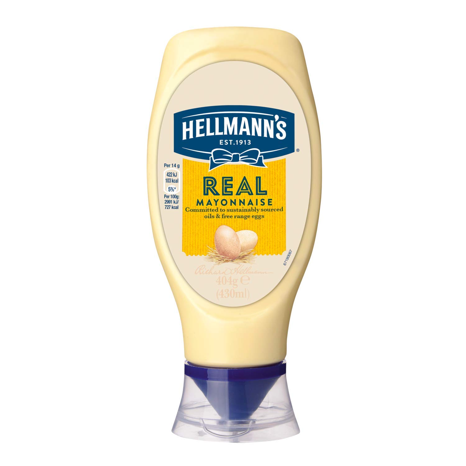Hellmanns Directly managed store Real Mayonnaise x 430ml 1 Ranking TOP15