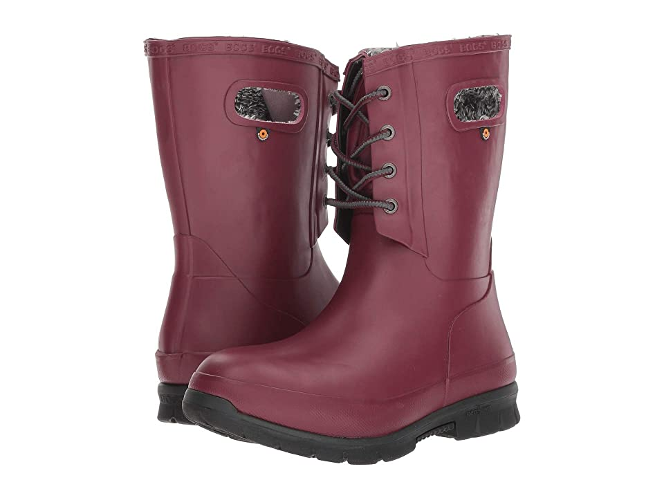 Bogs Amanda Plush (Burgundy) Women