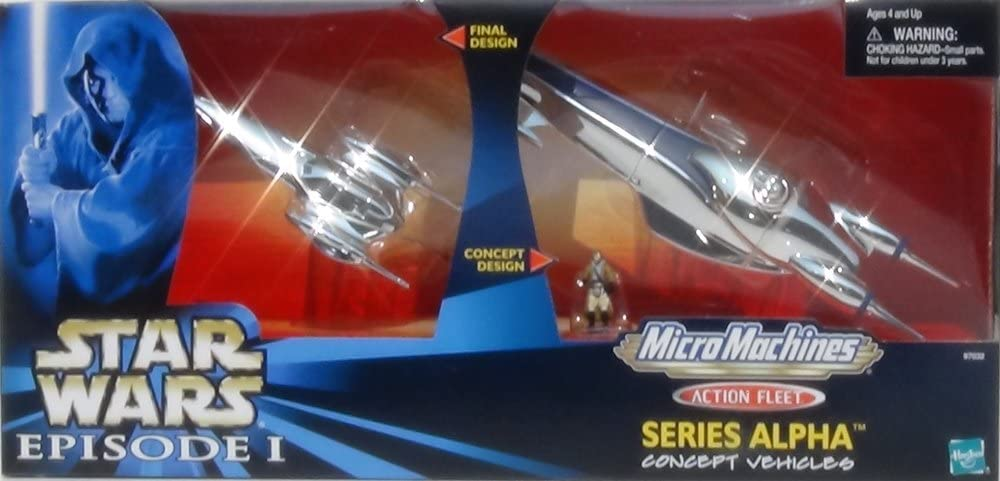 Star Finally popular brand Wars Episode 1 Micro Machines Fleet Alpha Action Series Indefinitely Roy