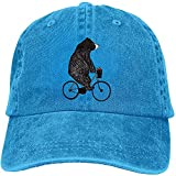 chipo Casquette Trucker Ride A Bicyclette Ours Apple Baseball Réglable Teint Casquette Adulte Lavé...