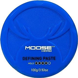 MOOSEHEAD Hair Styling Gel, Defining Paste, 100 gm