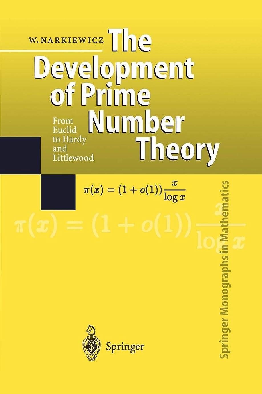 お金発揮する有用The Development of Prime Number Theory: From Euclid To Hardy And Littlewood (Springer Monographs In Mathematics)