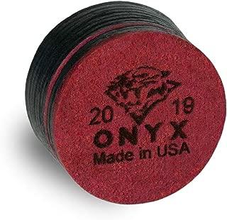 Tiger Onyx LTD Laminated Pool Billiard CUE TIP - 1 pc - 13 or 14 mm