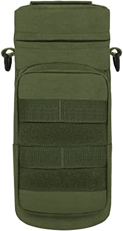 RT521 East West Tactical Molle Water Bottle Carrier Charcol New w//Tags!