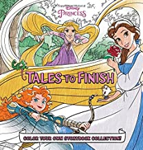 Disney Princess Storybook Collection: Tales to Finish: Color Your Own Storybook Collection!
