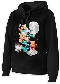 Jean Ralphio The Woooorst Three Jean Moon Woman's Teens Cotton Cozy Sweatshirt Hoodie Black