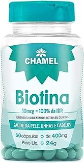 Biotina em cápsulas - 60 cápsulas, Chamel