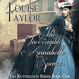 The Incorrigible Annabelle Spencer audiobook cover art