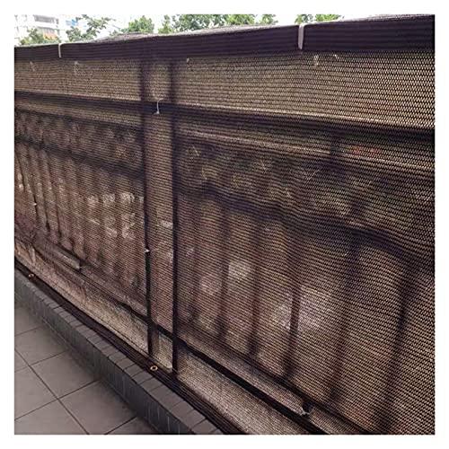 Pillows-RJF Pantalla para Balcón, de Alta Resistencia Escudo de Privacidad Toldo para Balcón con Cables de sujeción Protección de Privacidad para Jardín Patio, Tamaño Personalizado