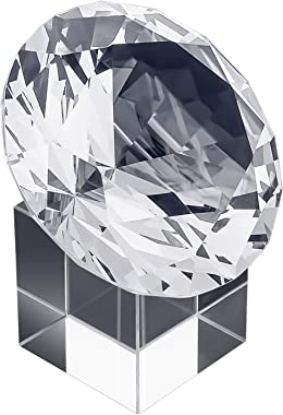MerryNine Top K9 Clear Crystal Diamond Paperweight decoration for Wedding, Store, Home, Office, Bar, ect; Best gift for lover