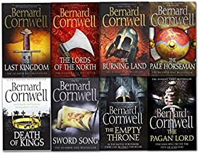 Bernard Cornwell Warrior Chronicles Series 8 Books Set (The Pagan Lord, Death of Kings, The Lord of the North, Sword Song,...