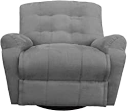 Regal In House Classic Recliner Chair with Controllable Back - Grey AB03
