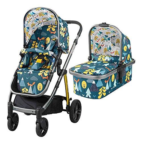 Cosatto WOW Kinderwagen und Kinderwagen (Fox Tale)