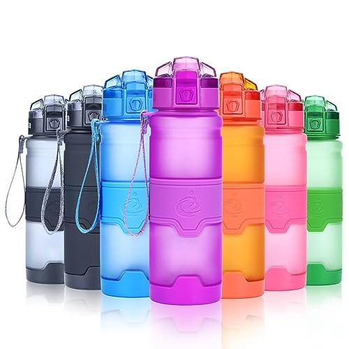 Grsta Botella de Agua Deportiva - 500ml/17oz - sin BPA & a Prueba de