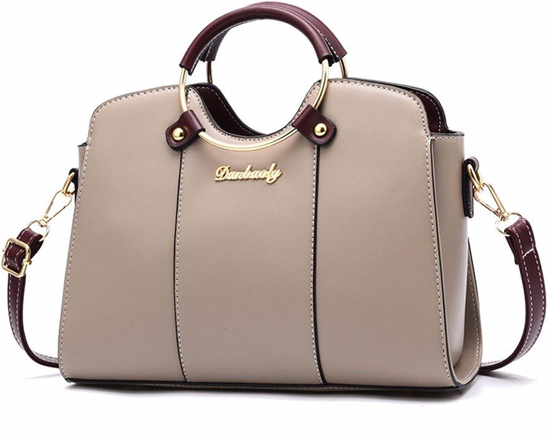 GQFGYYL Handtasche Dame Single umhängetasche,Khaki. B07H7KHLBF  Menschliche Grenze