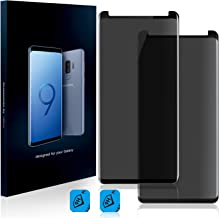 HOMY Samsung Galaxy Note 8 Privacy UHD Screen Protector [2-Pack] - Free Back Cover & Camera Lens Cover. Made by HOMY International Full 3D Curved 9H Japanese Tempered Glass. High Sensitivity, Bubbles.