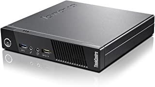 Lenovo ThinkCentre M73 Tiny Form Factor Business Desktop Computer, Intel Dual-Core G3220T Processor 2.60 GHz, 8GB RAM, 500GB HDD, WiFi, USB 3.0, VGA, Windows 10 Pro (Renewed)
