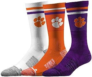 6 Total Socks Elite Fan Shop NCAA Baby Sock 3-Pack